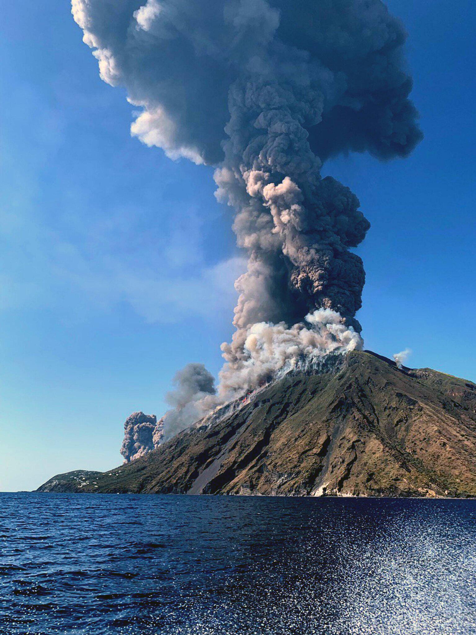 Bild zu Grosser Ausbruch am Vulkan Stromboli