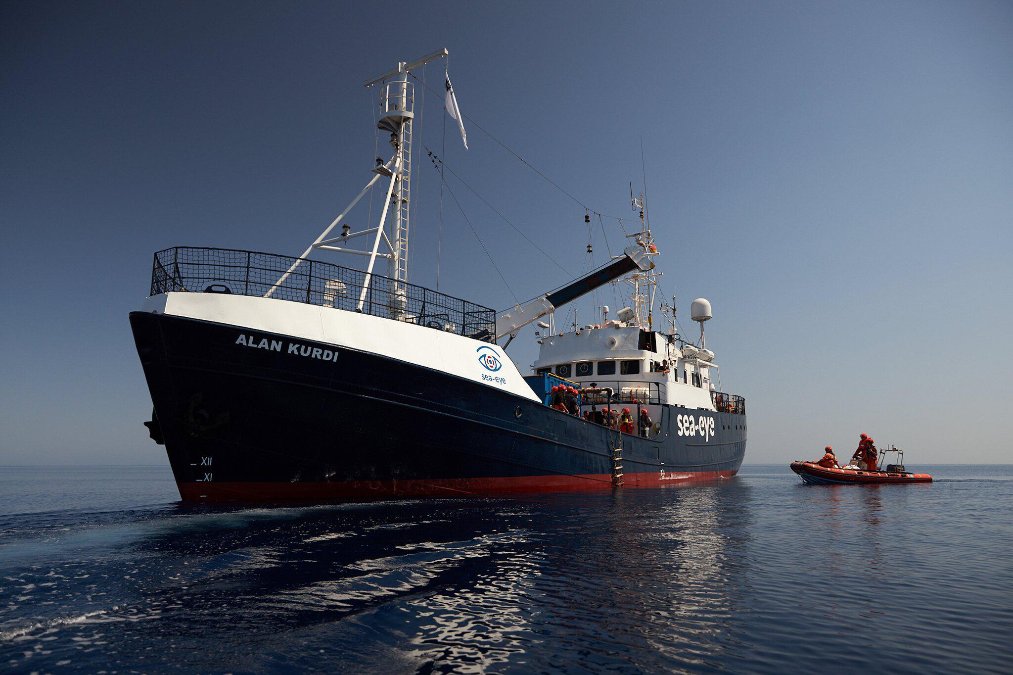 Bild zu Seenotrettung im Mittelmeer - «Alan Kurdi»