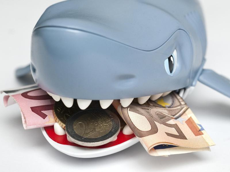 Bild zu Kredithai mit Geld