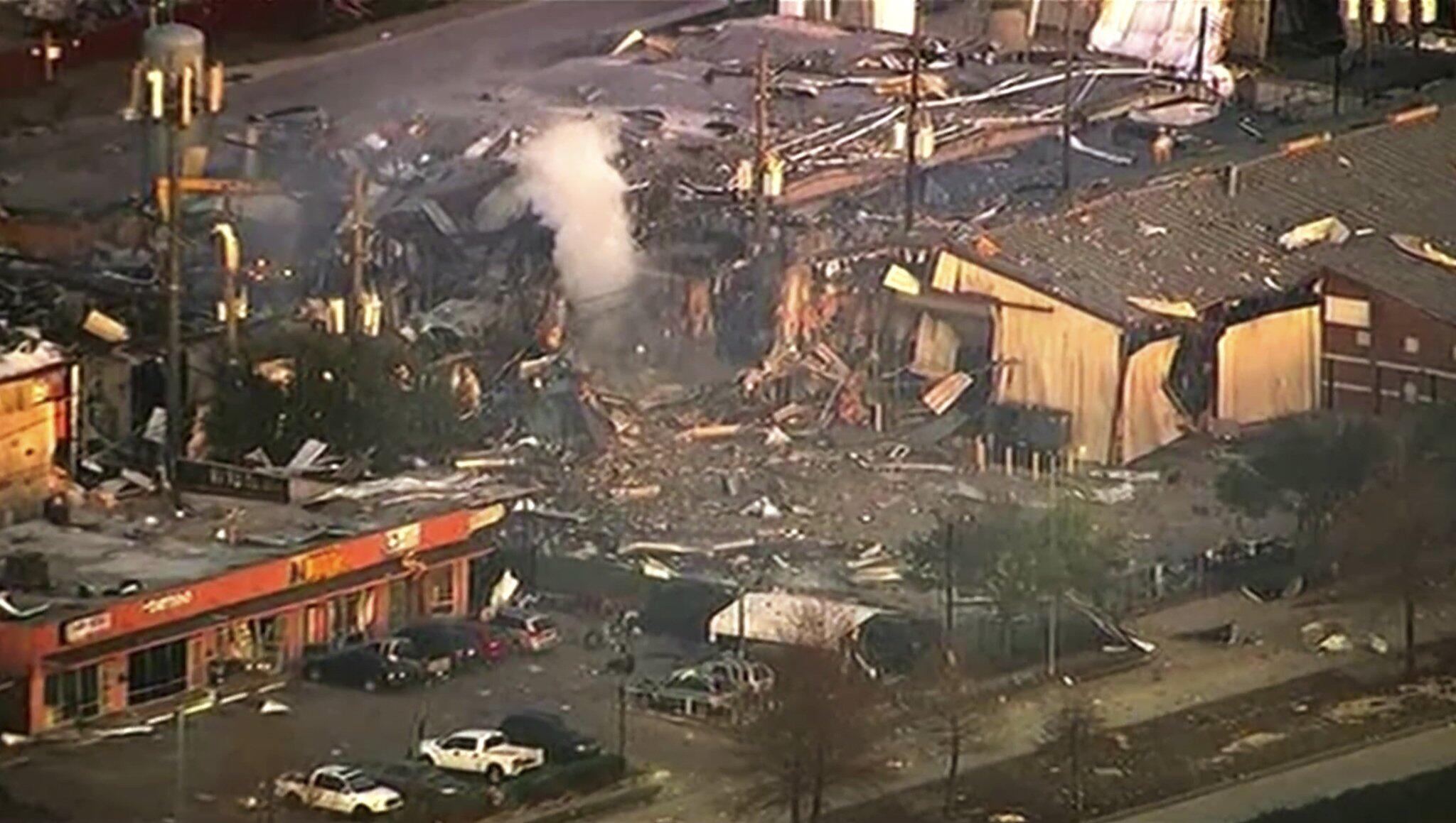 Bild zu Explosion in Houston