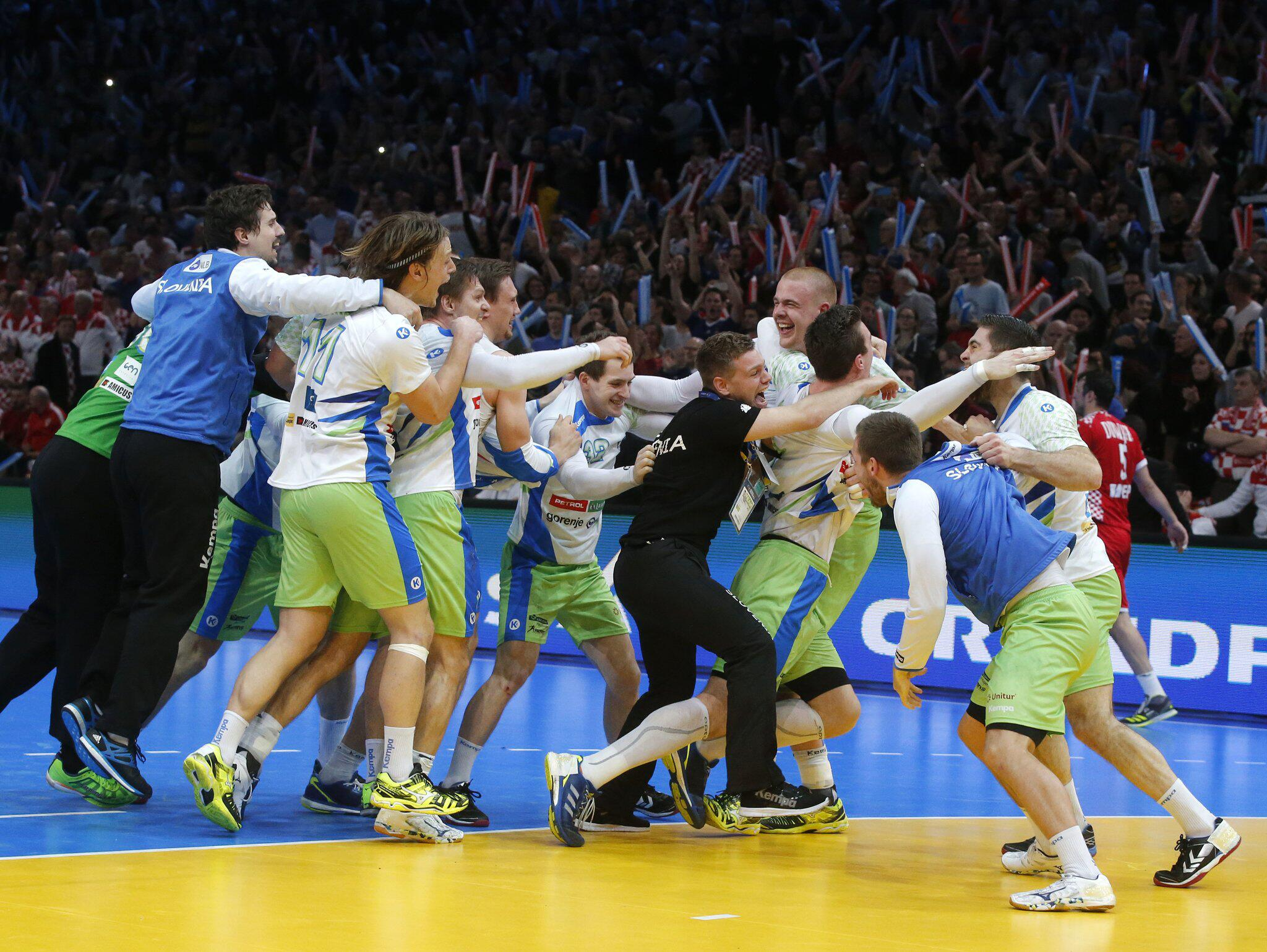 Bild zu Handball-WM - Slowenien - Kroatien, Bronze