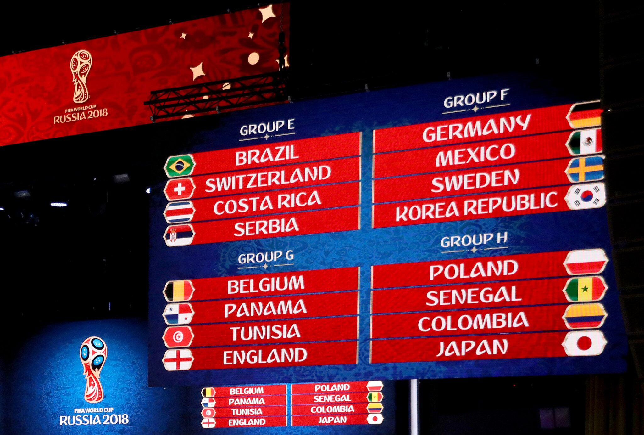 Bild zu Fussball: WM-Auslosung