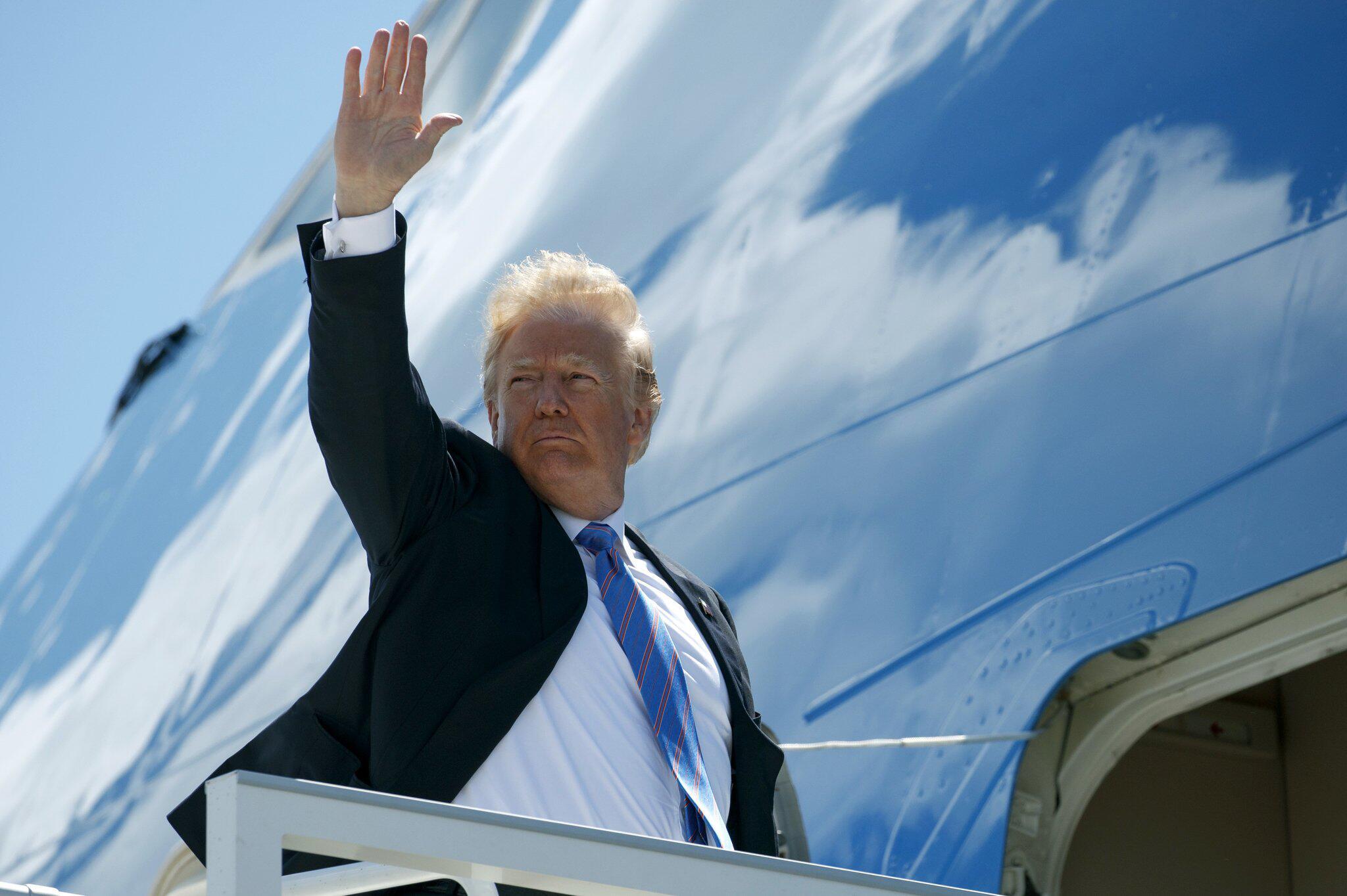 Bild zu Nach dem G7-Gipfel in Kanada - Trump fliegt nach Singapur