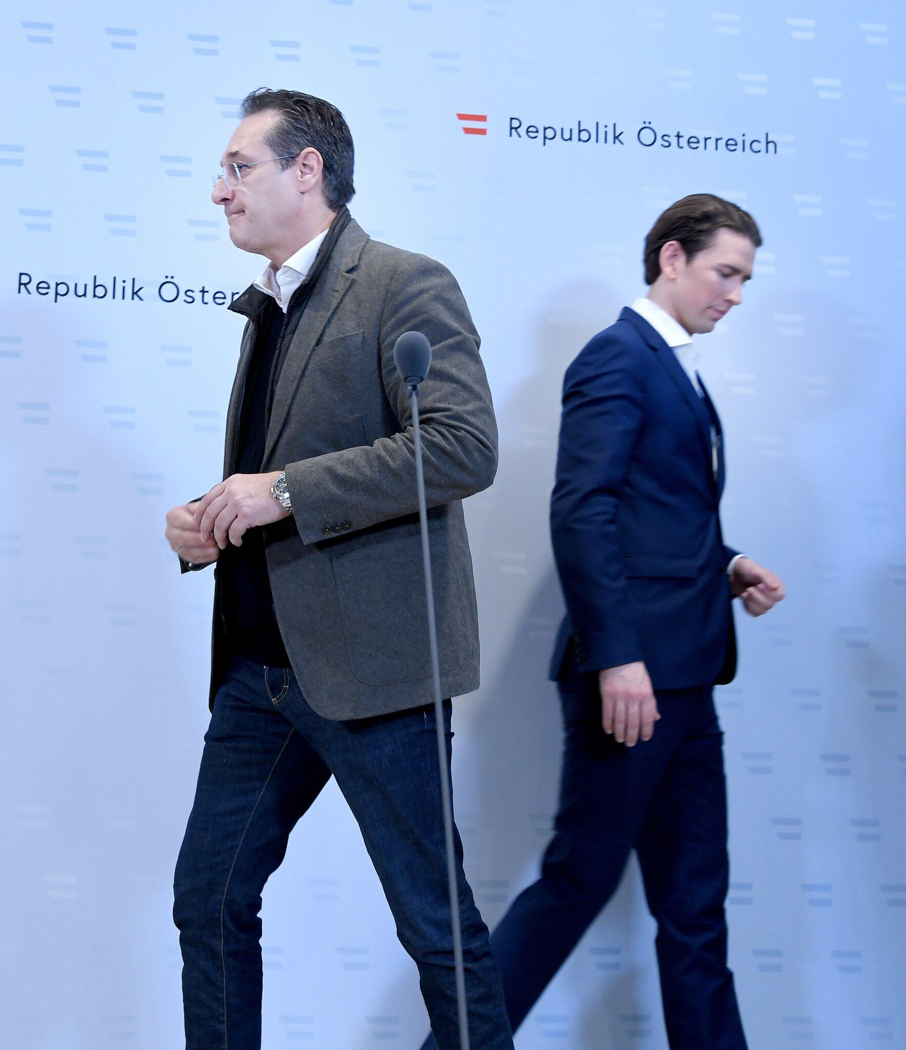 Bild zu Verfängliches Video - Österreichs Regierung in höchster Not