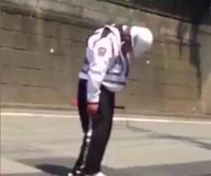 Verkehrspolizist