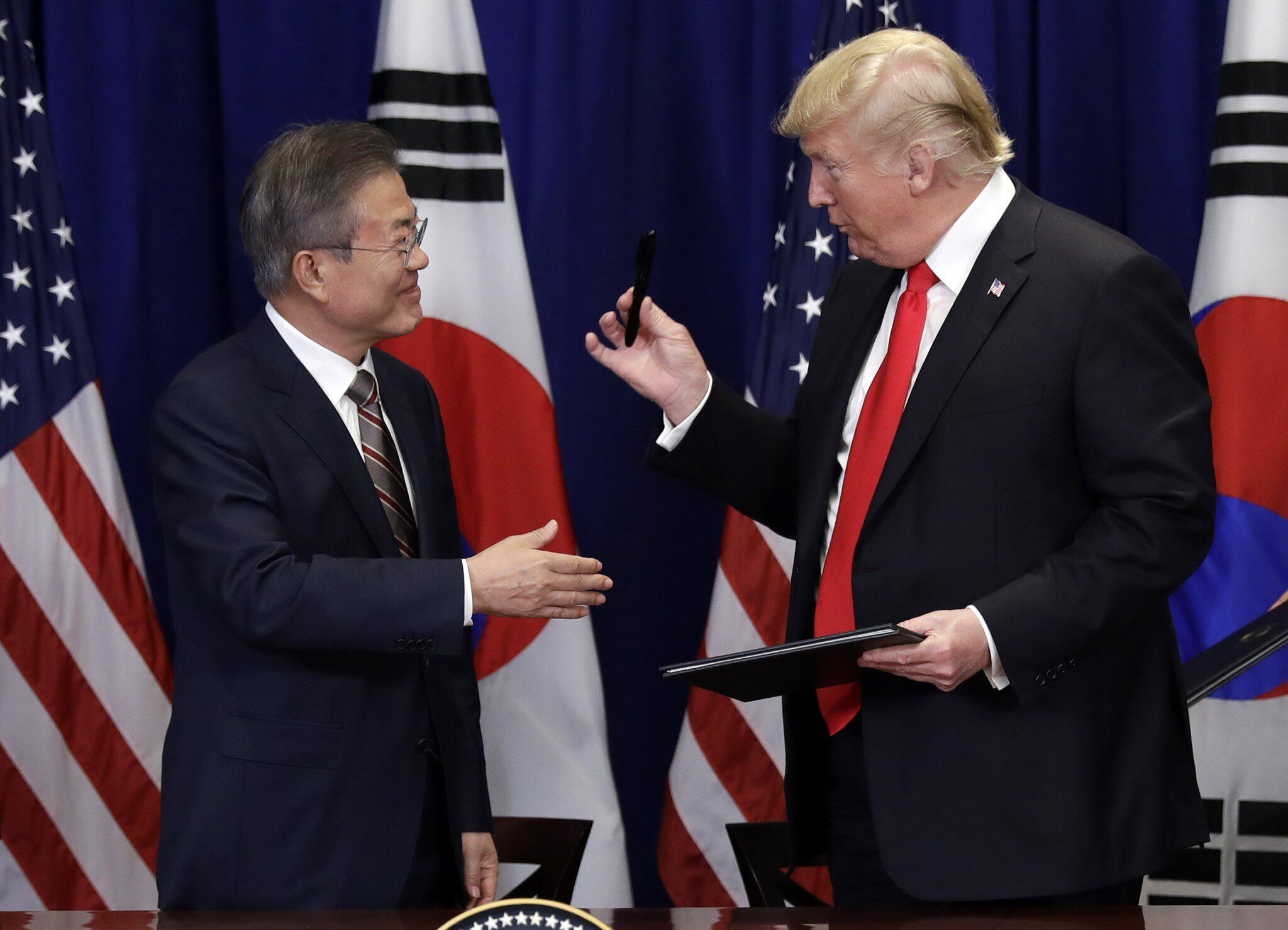 Bild zu Donald Trump trifft Moon
