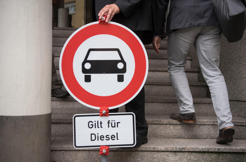 Bild zu Dieselfahrverbotsschild