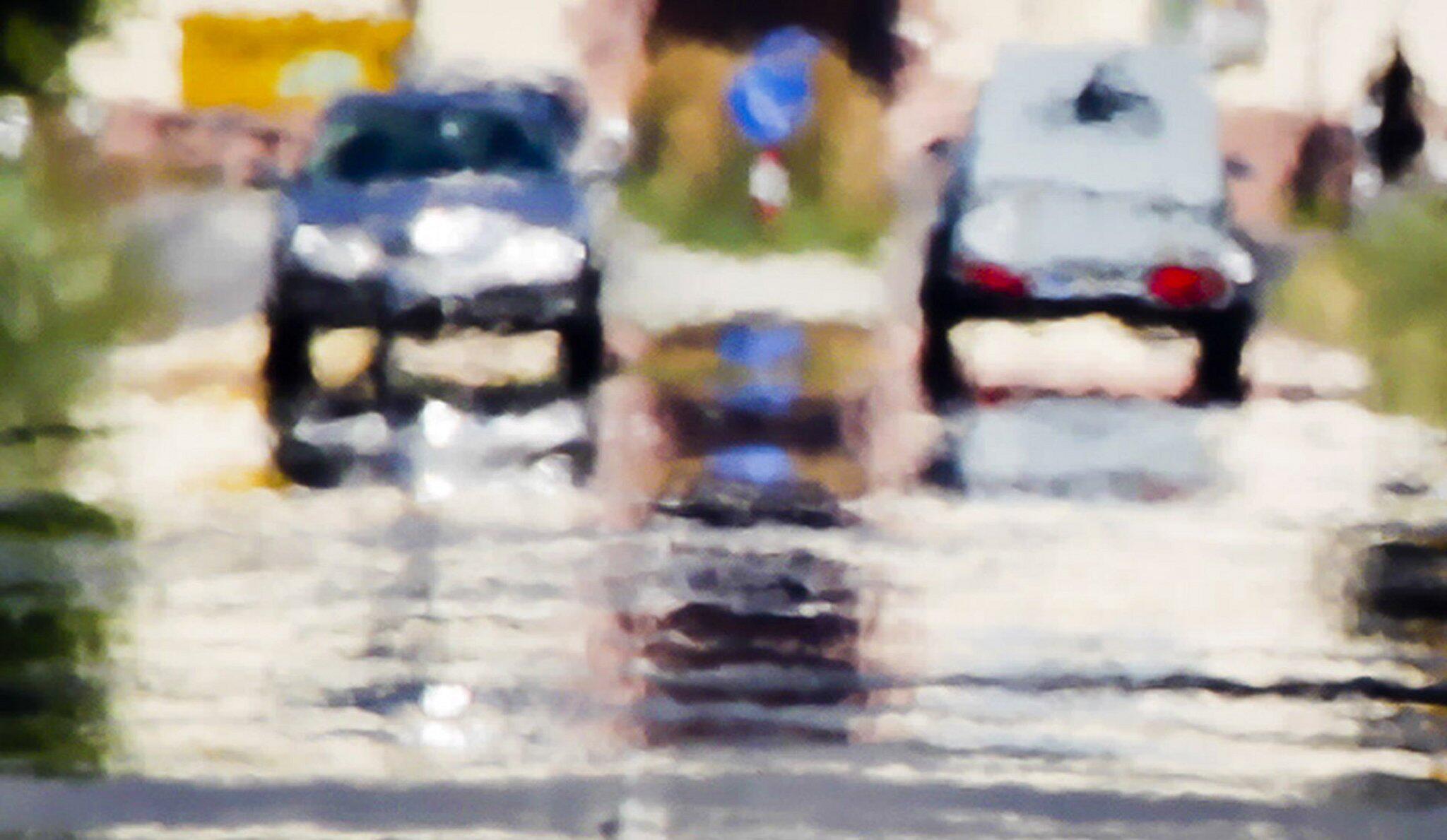 Bild zu Höheres Unfallrisiko bei Hitze?