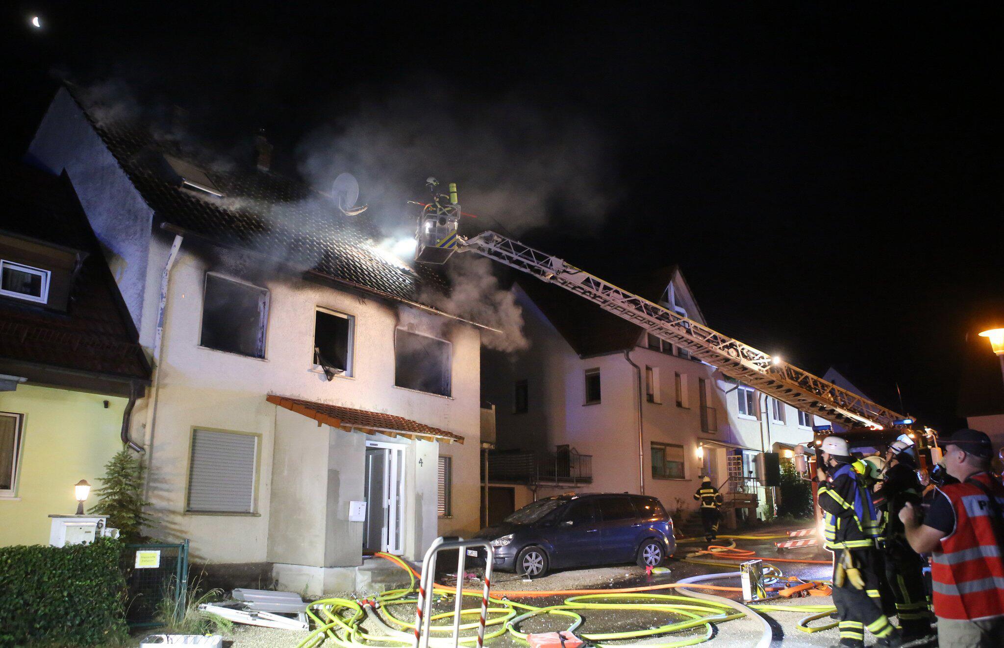 Bild zu Drei Tote bei Brand eines Einfamilienhauses
