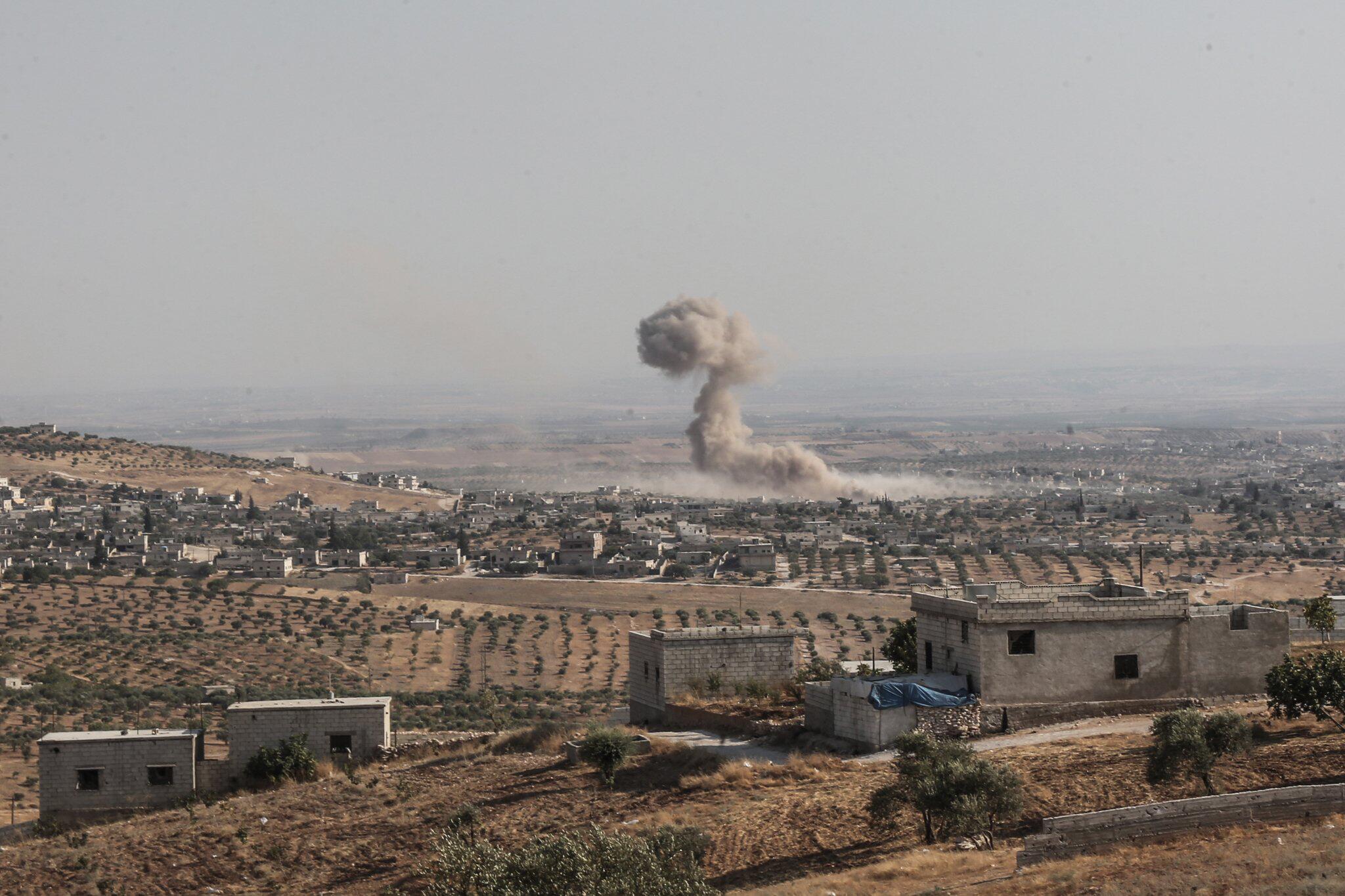 Bild zu Luftangriffe in Syrien