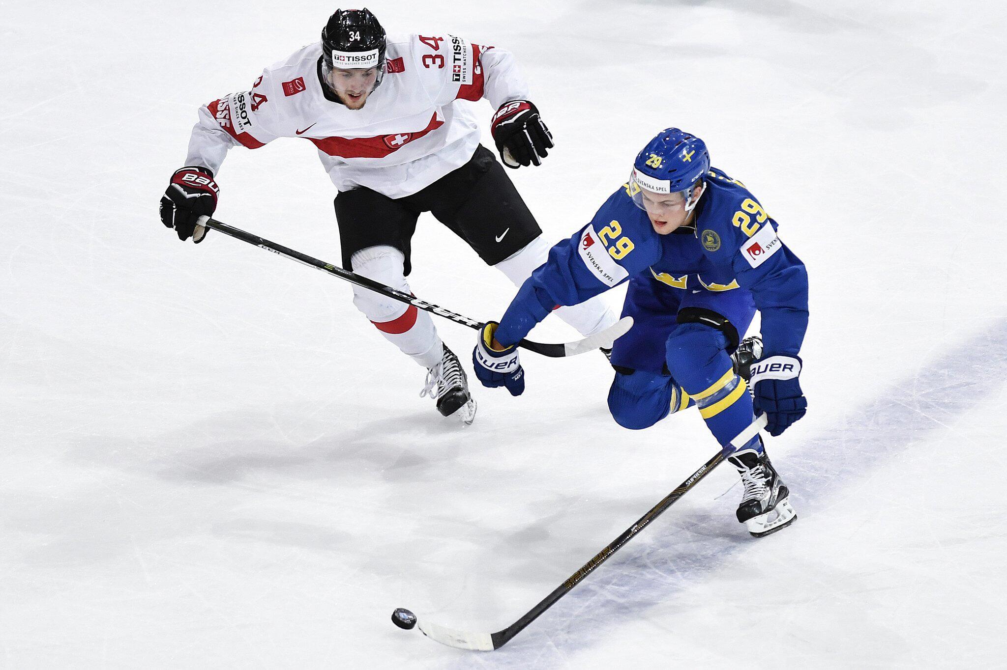 Bild zu Eishockey-WM: Schweden - Schweiz