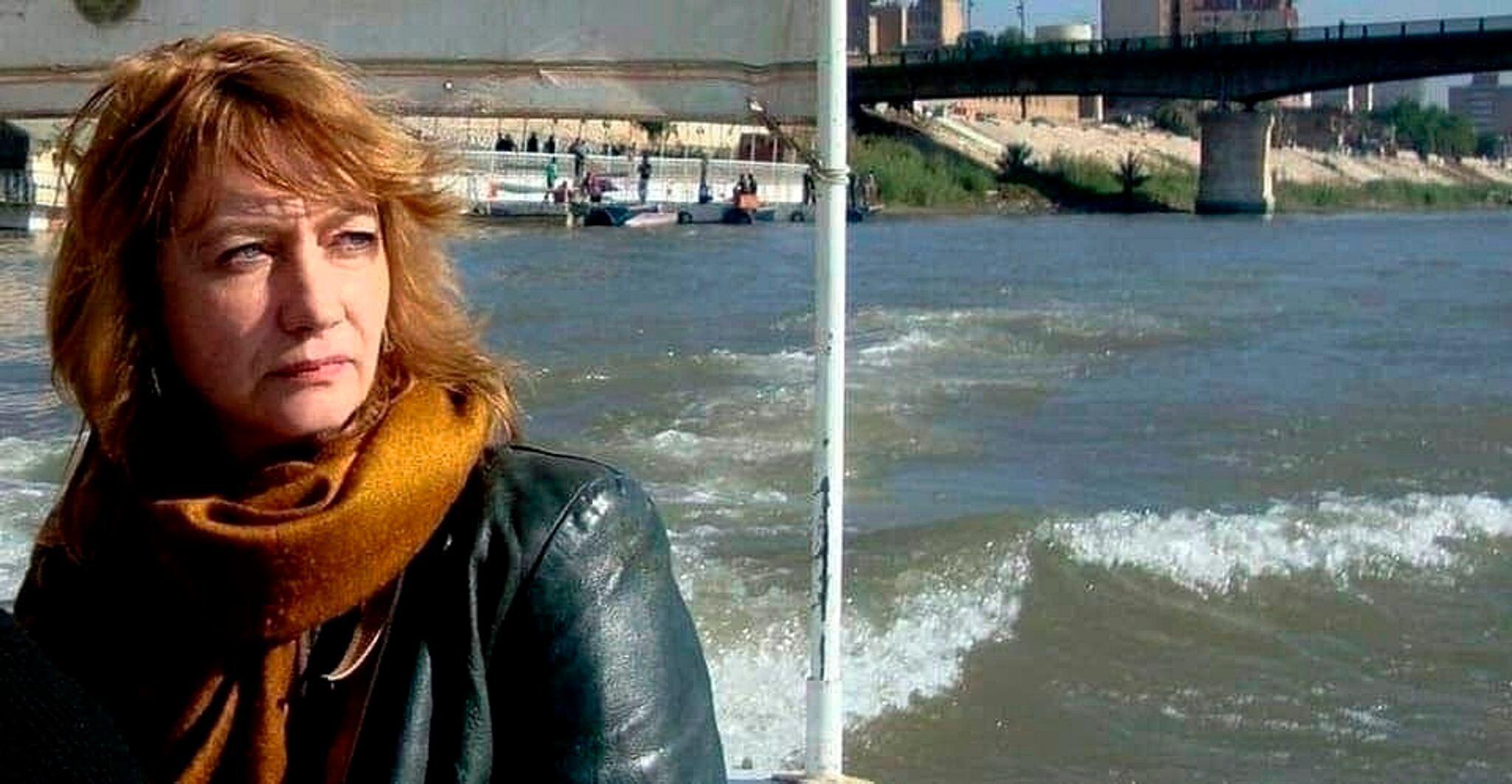 Bild zu Irak:Entführte Deutsche Hella Mewis ist wieder frei