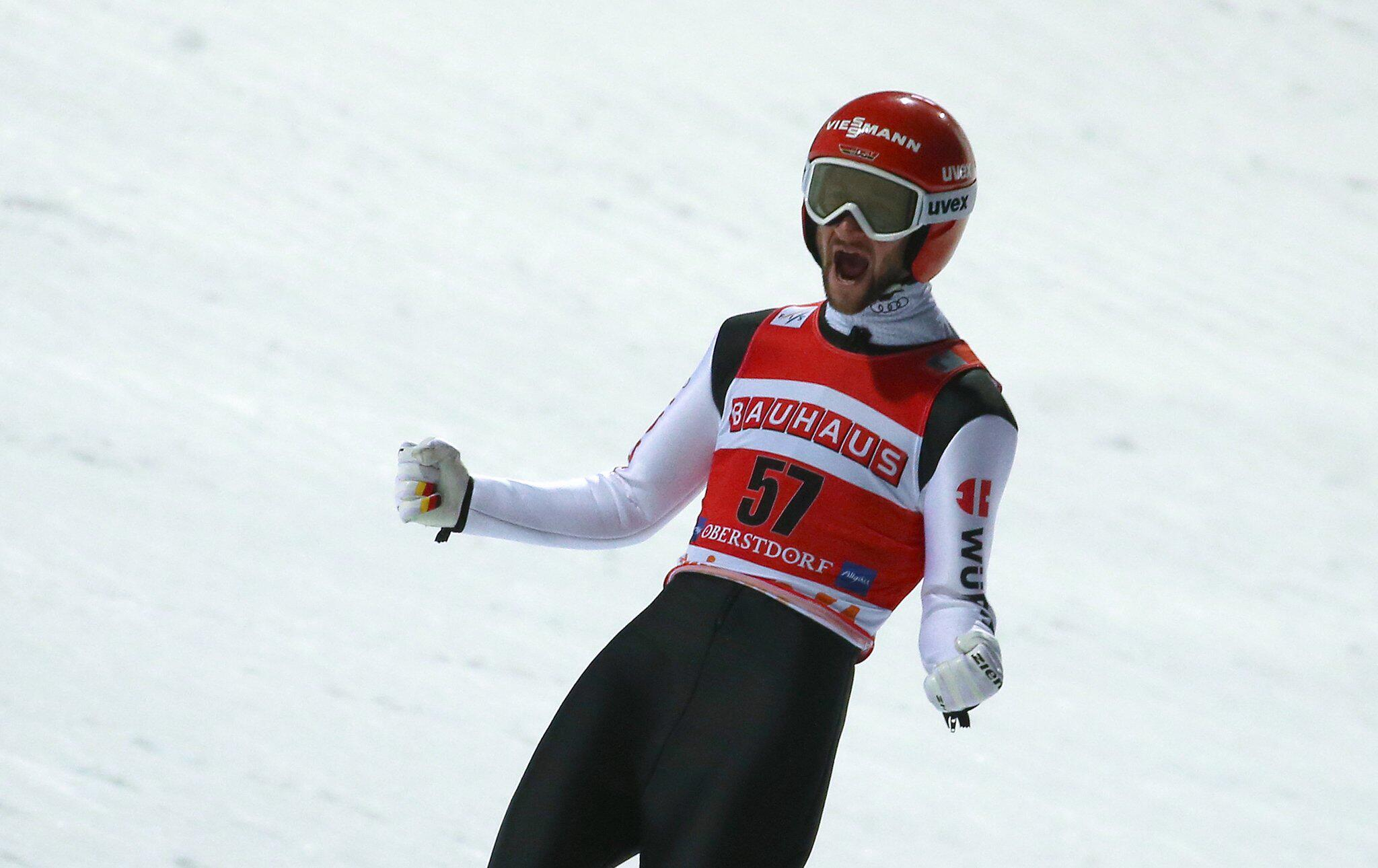 Bild zu Weltcup Skispringen Oberstdorf