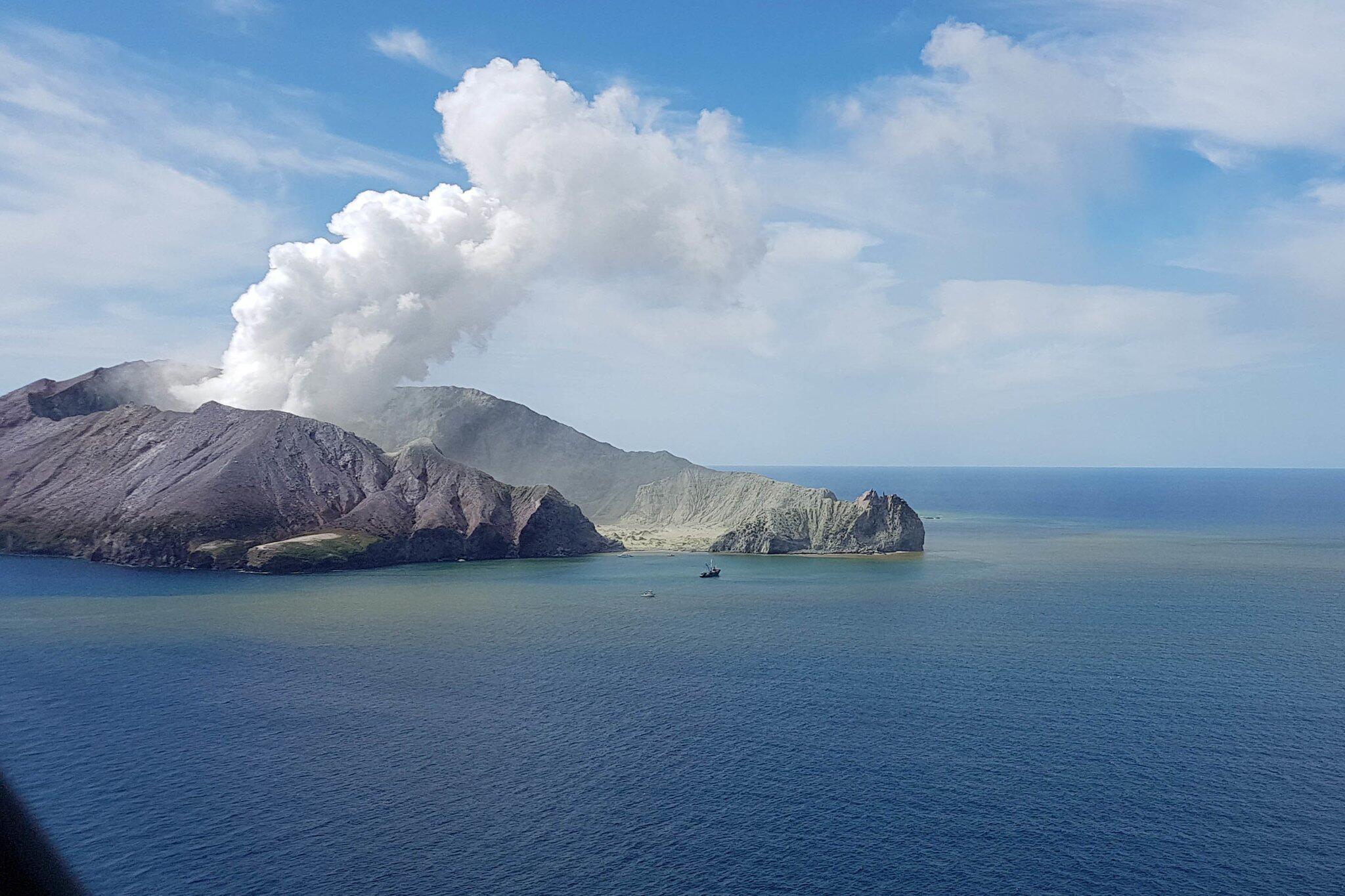Bild zu Vulkanausbruch auf neuseeländischer Insel