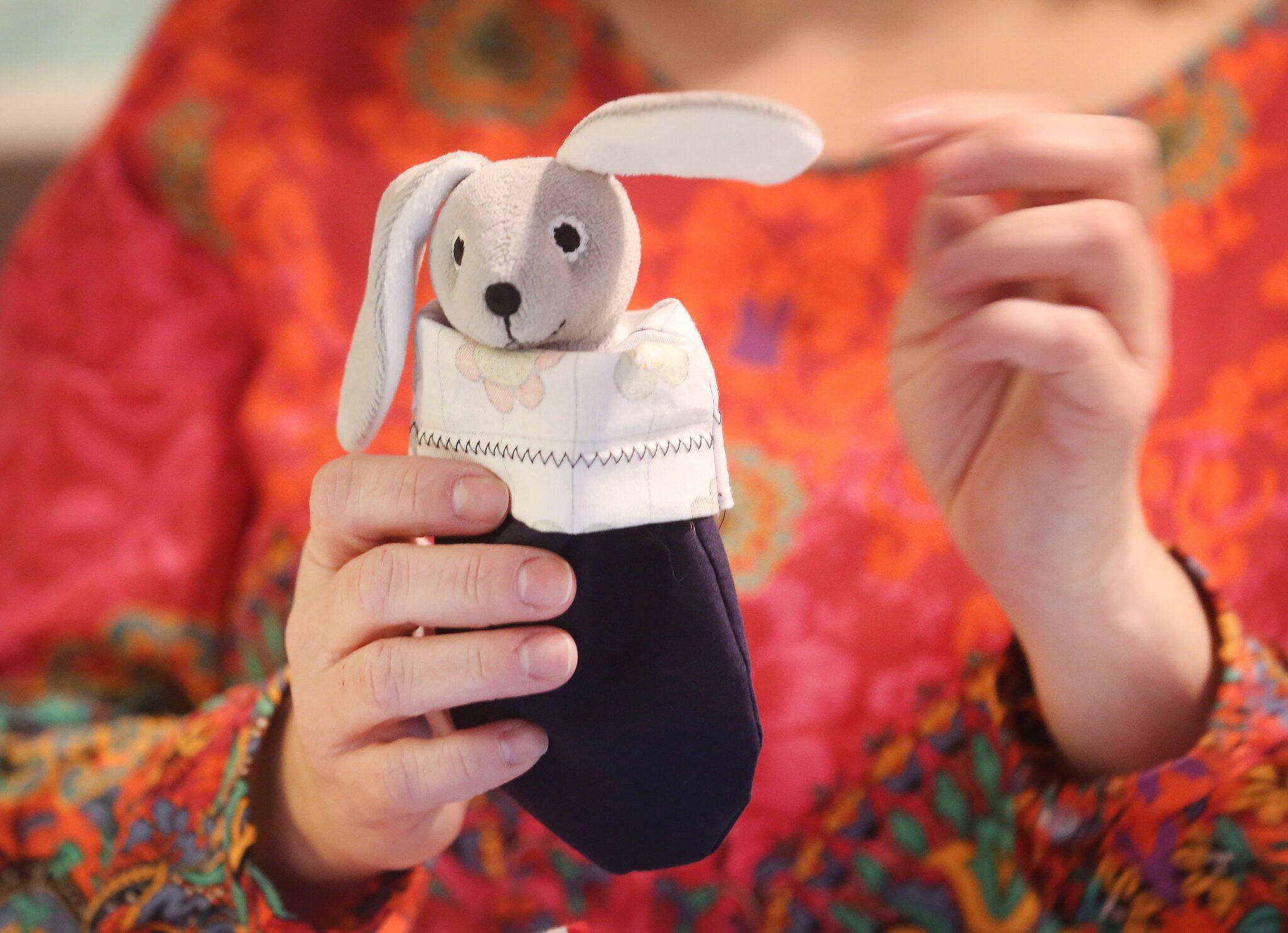 Bild zu Stoffbeutel für verletzte Koalas