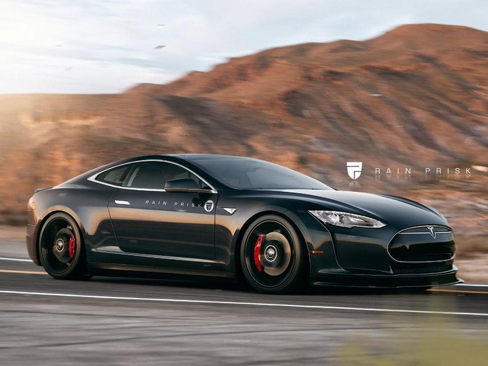Bild zu Tesla Model S Coupé