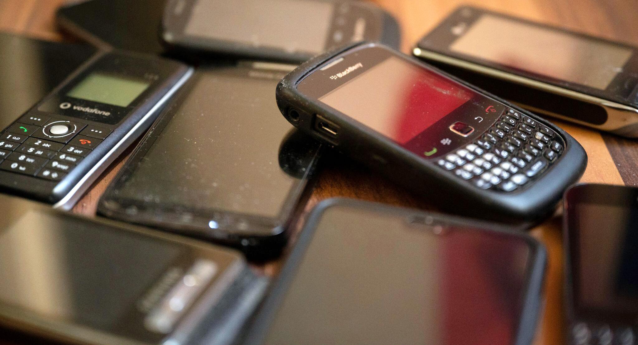 Bild zu Ungenutzte Handys