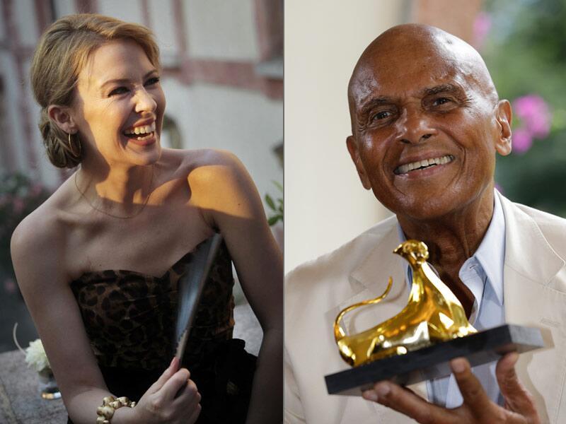 Bild zu Kylie Minogue und Harry Belafonte