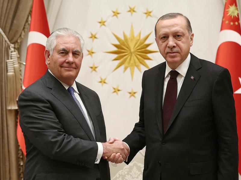 Bild zu US-Aussenminister in der Türkei