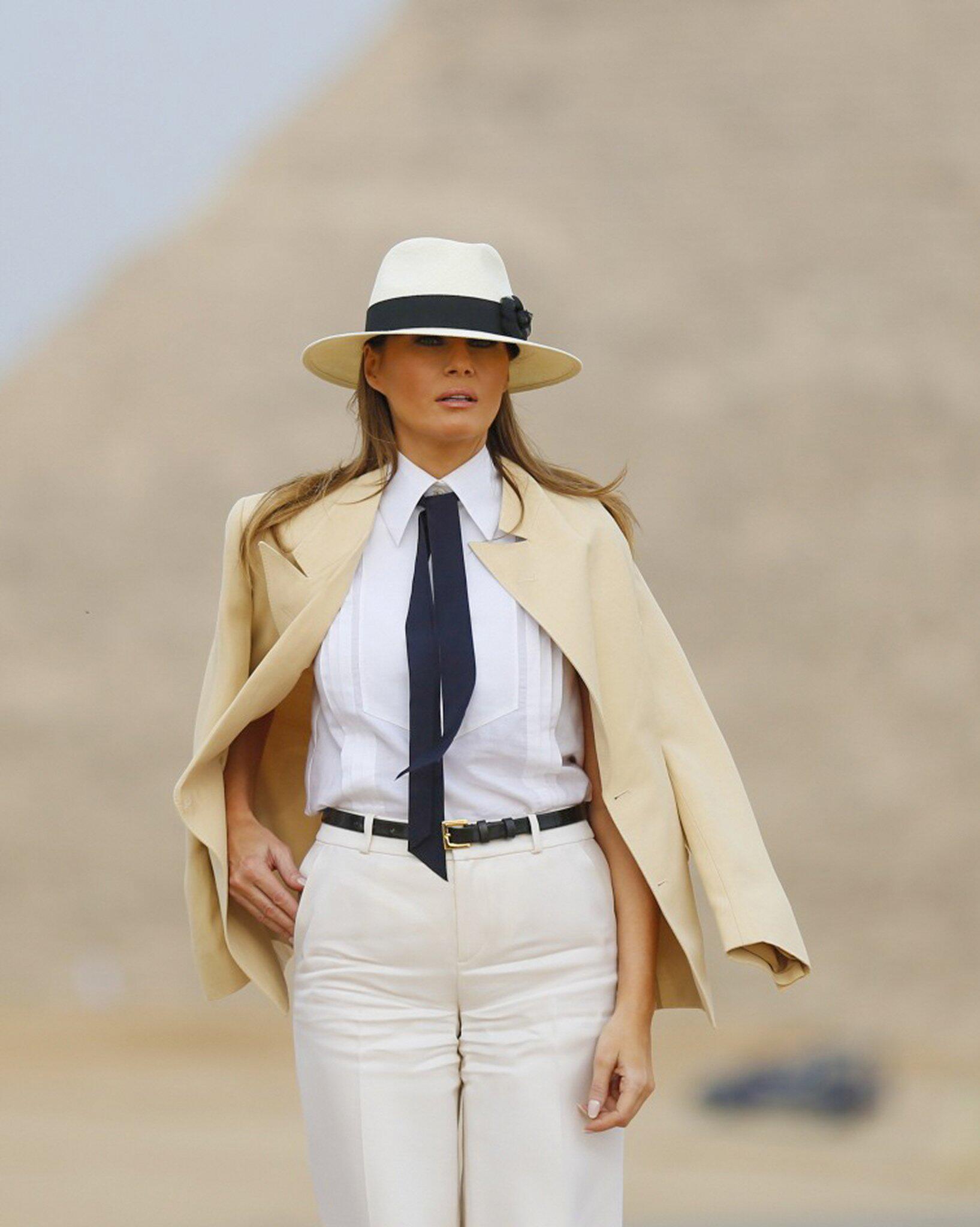 Bild zu First Lady Trump besucht Ägypten