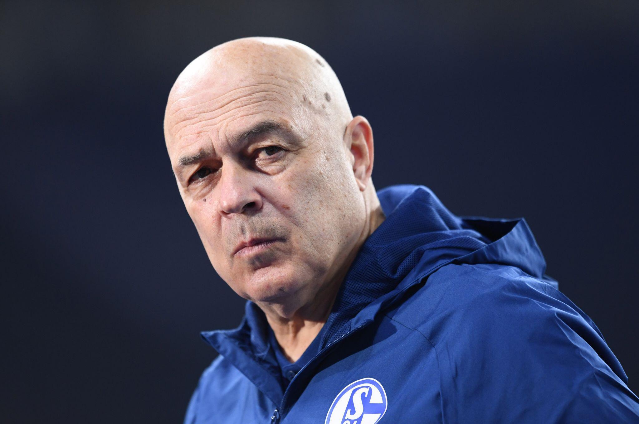 Bild zu Schalke-Coach Gross