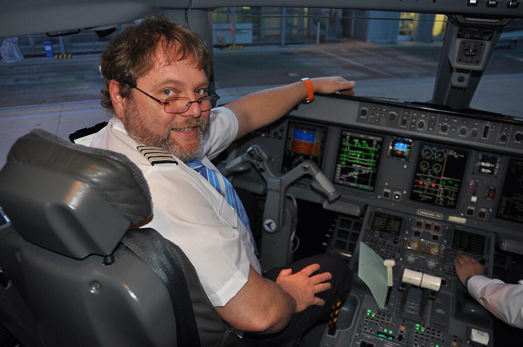 Bild zu Pilot Christian Hagen