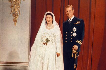 Elizabeth II. Hochzeit Prinz Phillip