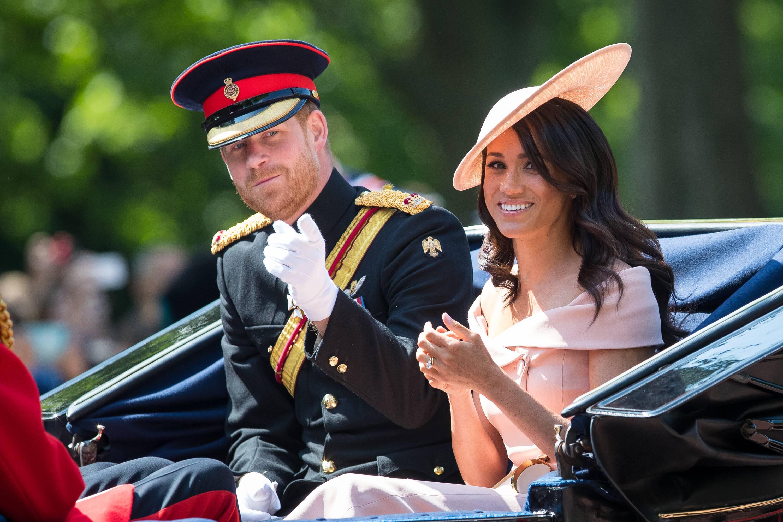 Bild zu Prinz Harry und Herzogin Meghan