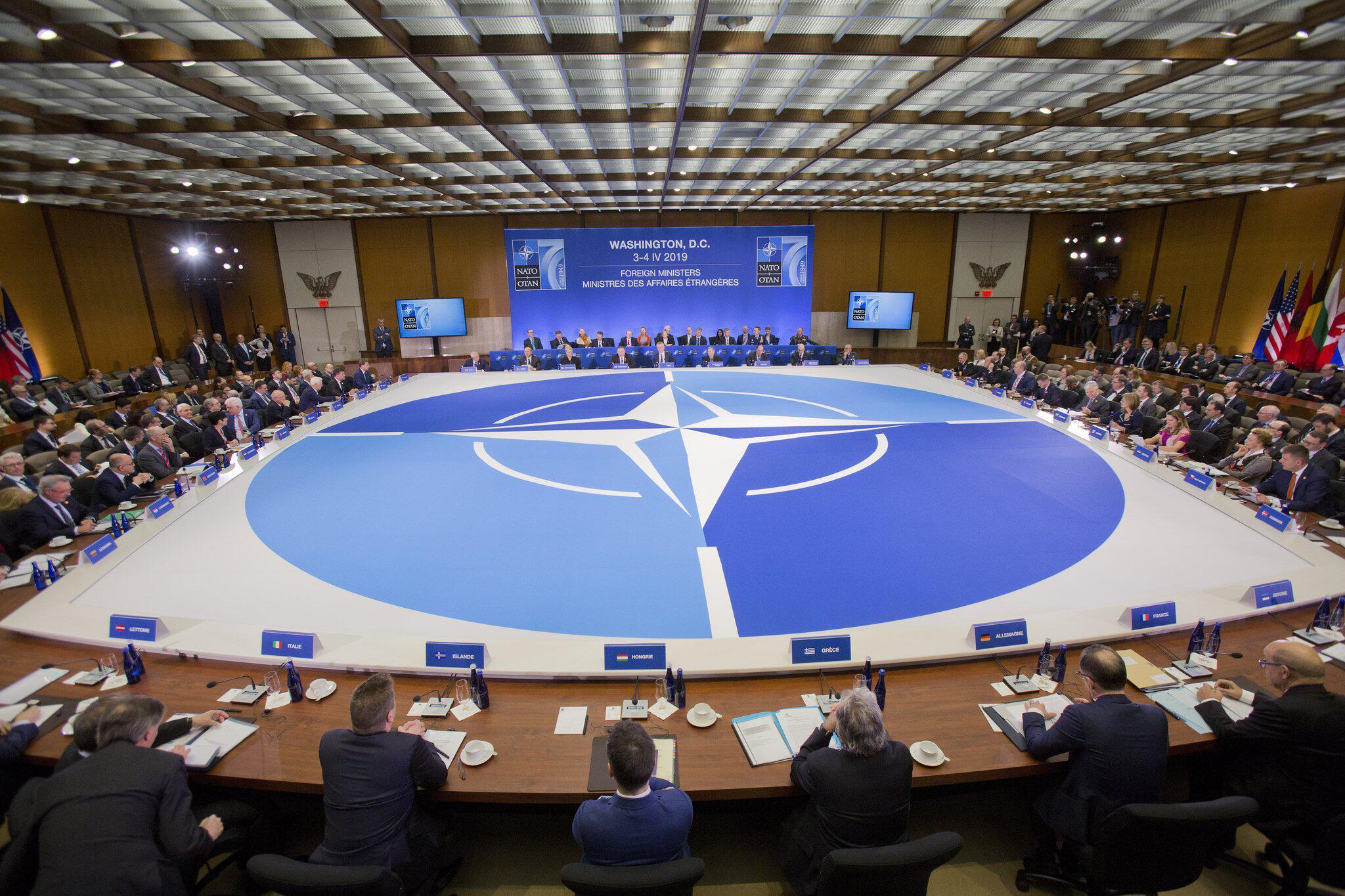 Bild zu 70 Jahre NATO - Treffen des Nordatlantikrates