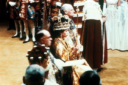 Elizabeh II. Krönung