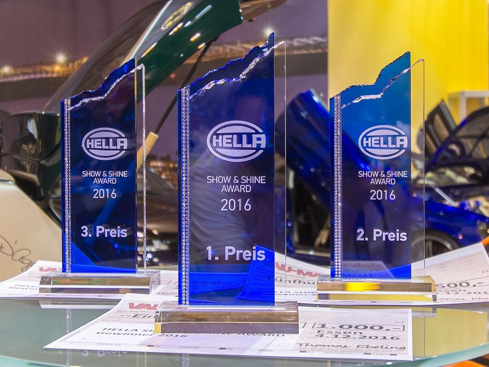 Bild zu Award, Hella Show & Shine, Preisverleihung