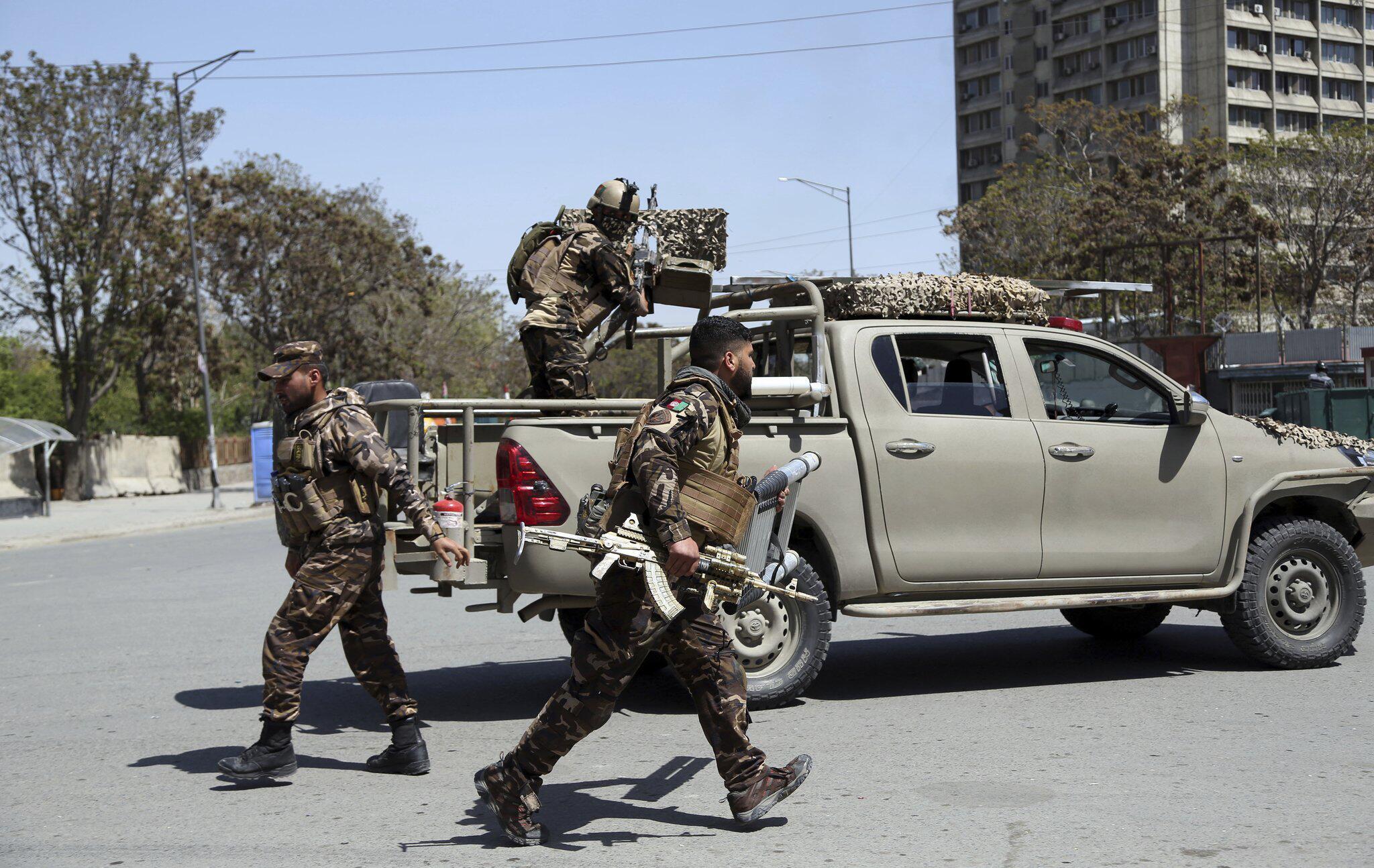 Bild zu Angriff auf Regierungsviertel in Kabul