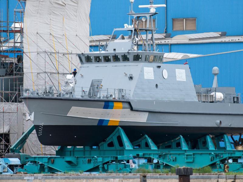 Bild zu Küstenschutzboot für Saudi-Arabien