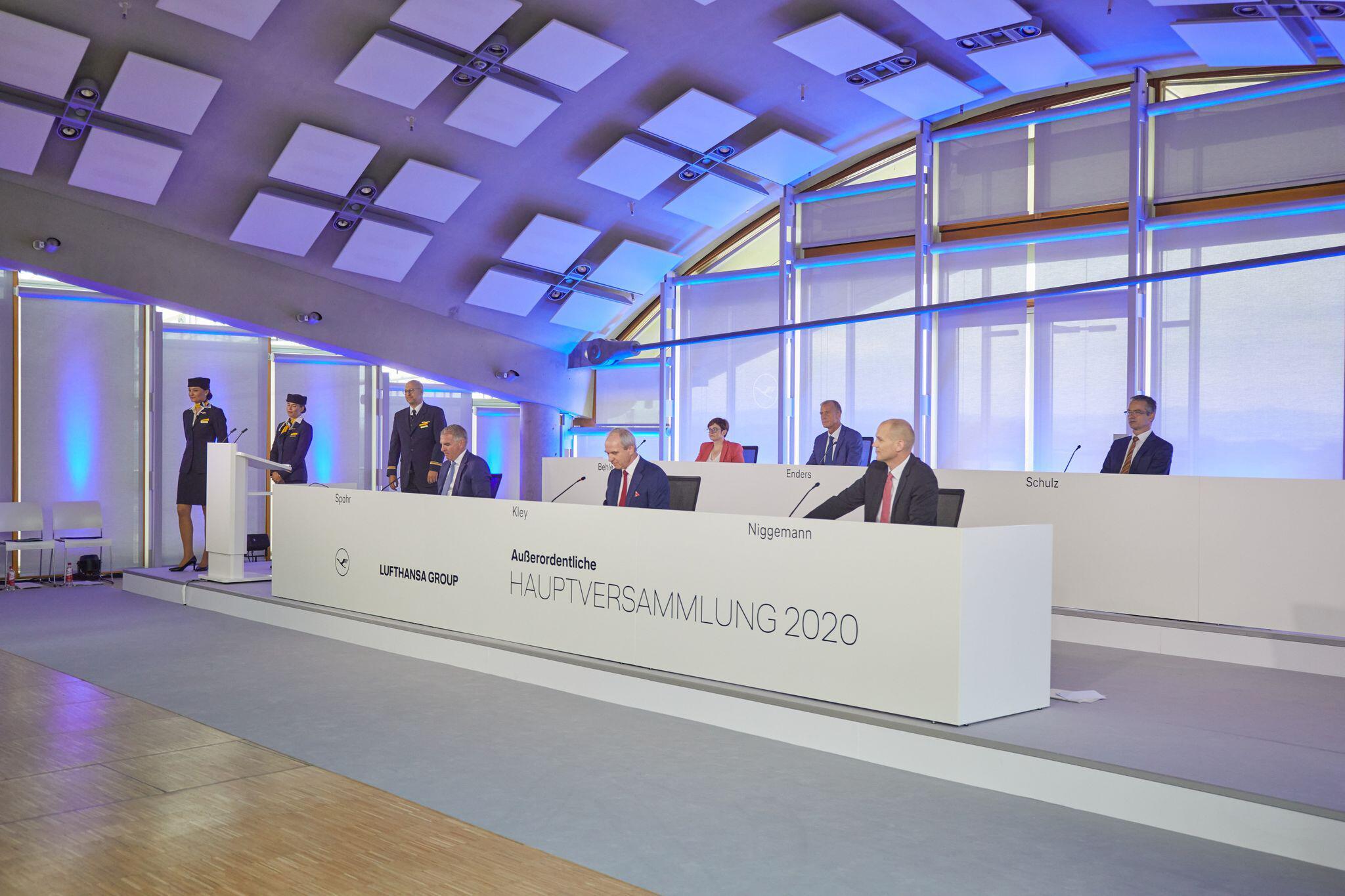 Bild zu Ausserordentliche Hauptversammlung der Deutschen Lufthansa AG