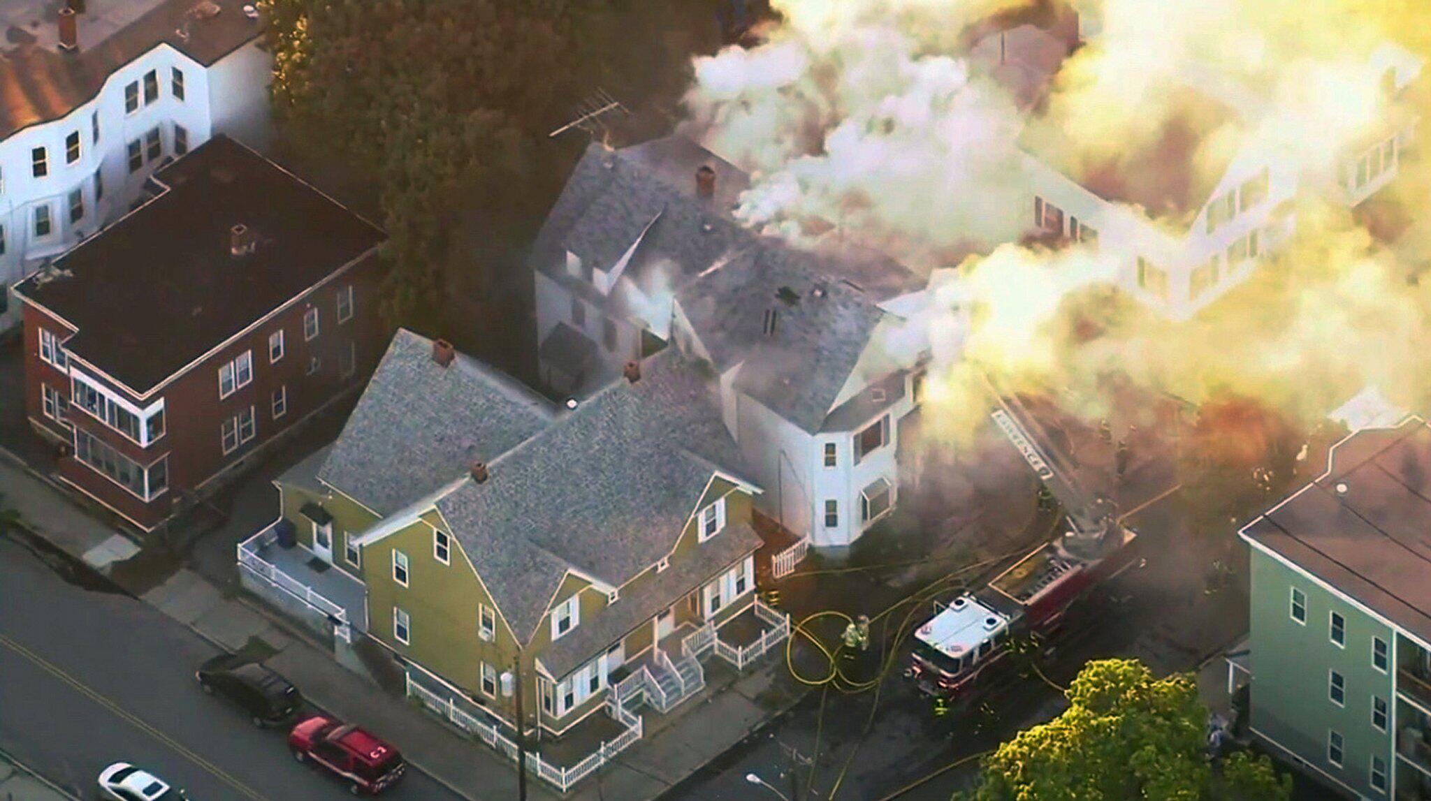 Bild zu Gasexplosionen nahe Boston