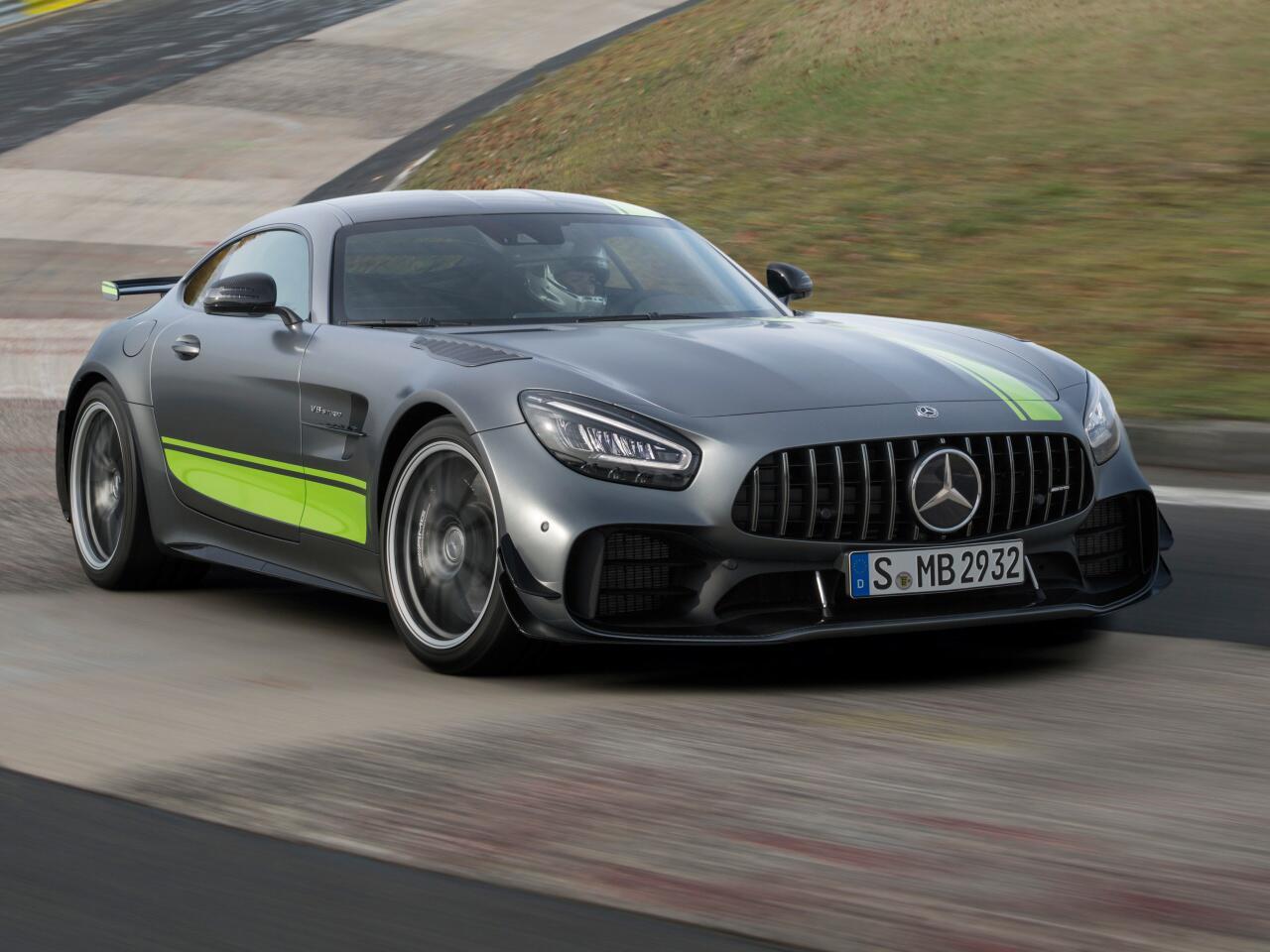 Bild zu Mercedes-AMG GT und AMG GT R PRO: Frische Optik und noch agiler