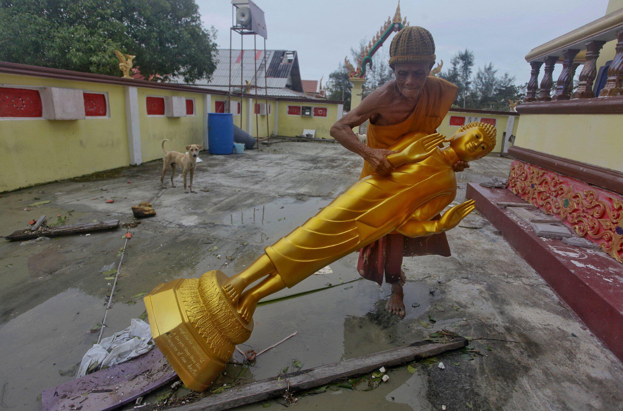 Bild zu Tropensturm «Pabuk» in Thailand