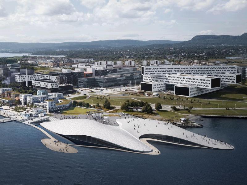 Bild zu Riesiges Aquarium in Oslo