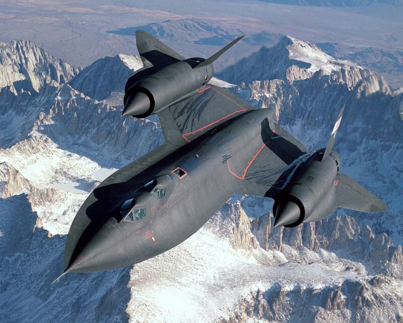 Bild zu Lockheed SR-71A Blackbird