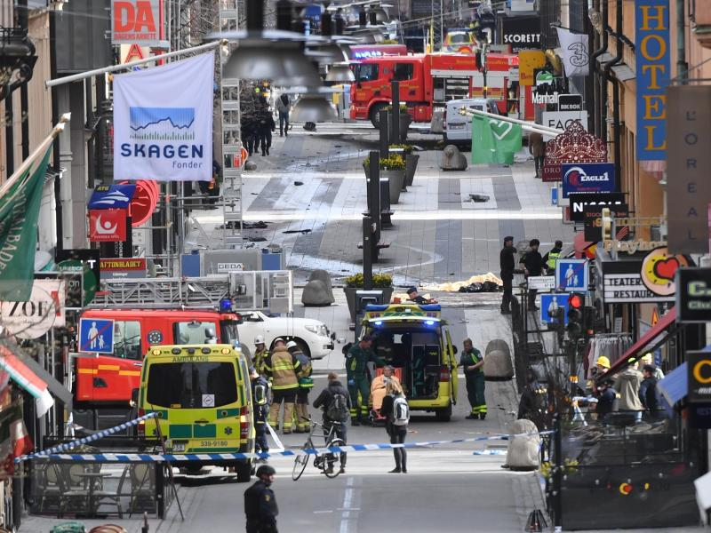 Bild zu Terroranschlag in Stockholm
