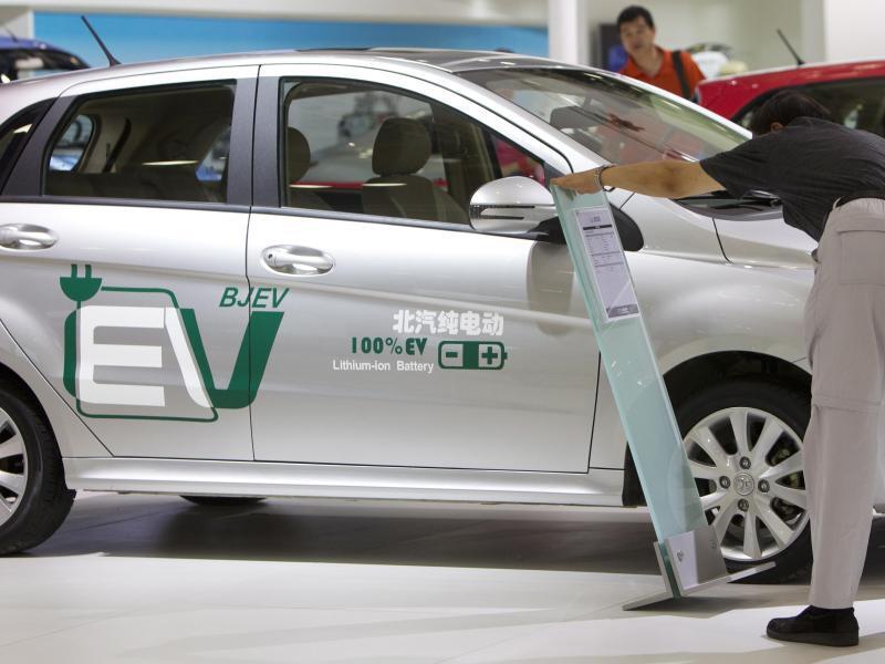 Bild zu Elektroauto von BAIC