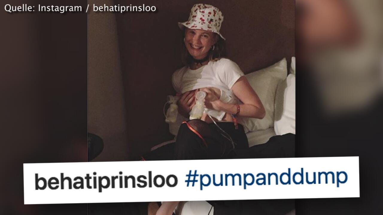 Bild zu Milchabpumpen auf Coachella-Festival: Behati Prinsloo verärgert Fans