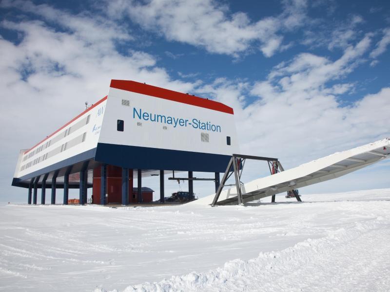 Bild zu Neumayer-Station III Station
