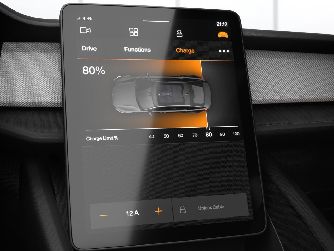 Bild zu Grosser Touchscreen als zentrale Informationseinheit