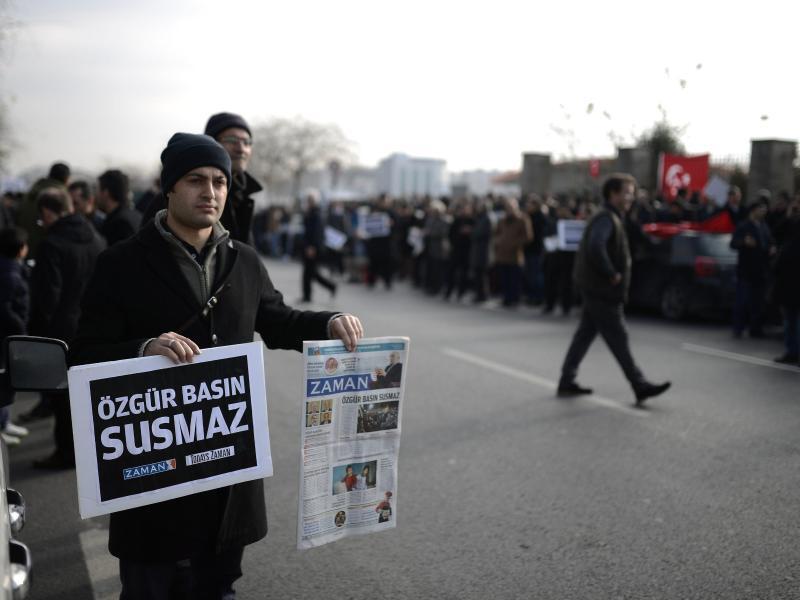 Bild zu Protest in Istanbul