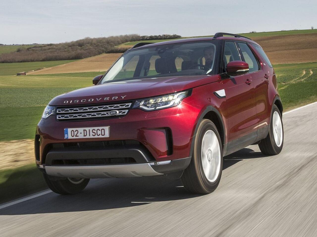 Bild zu Platz 1 - Hersteller: Land Rover
