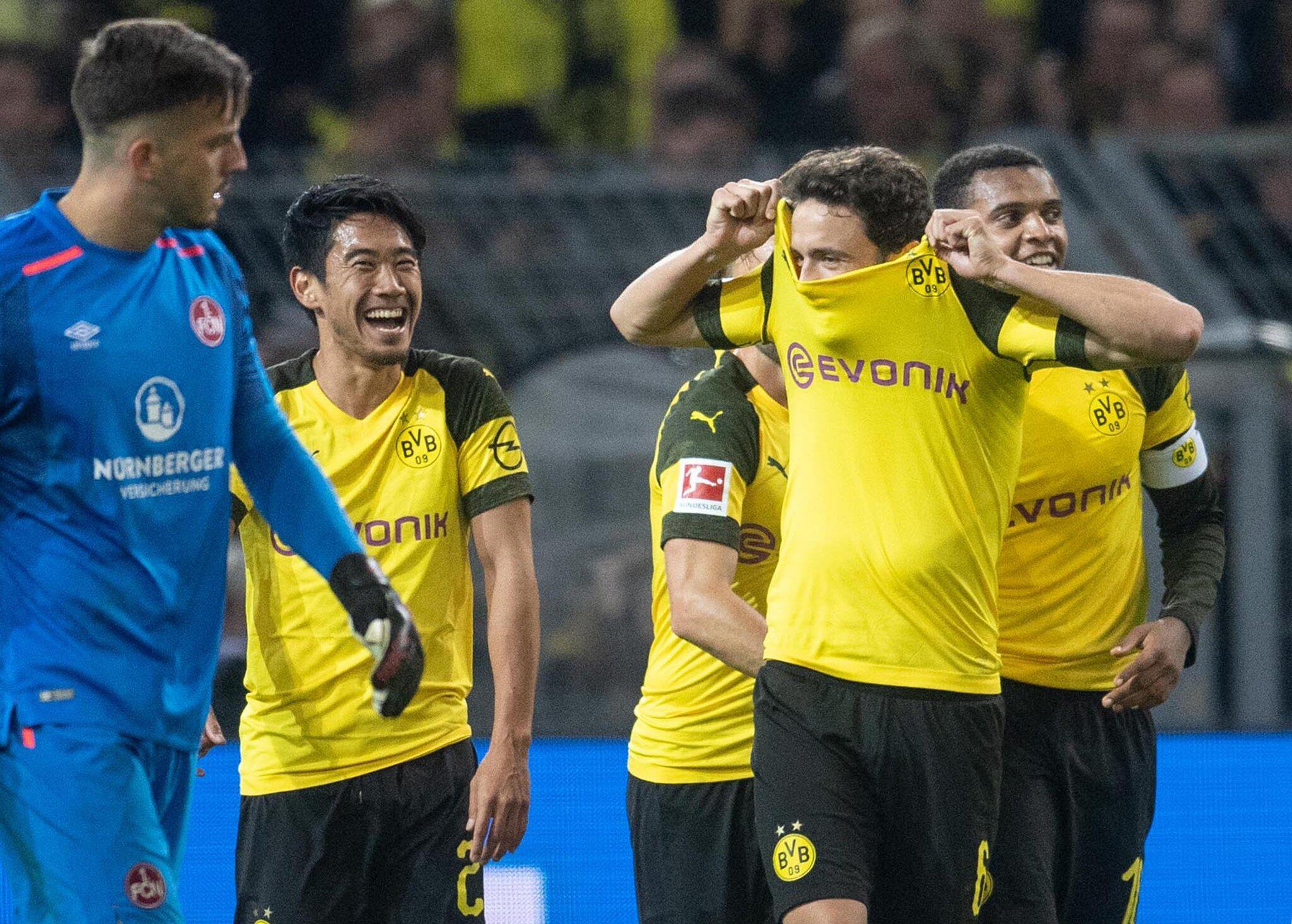 Bild zu Borussia Dortmund - 1. FC Nürnberg