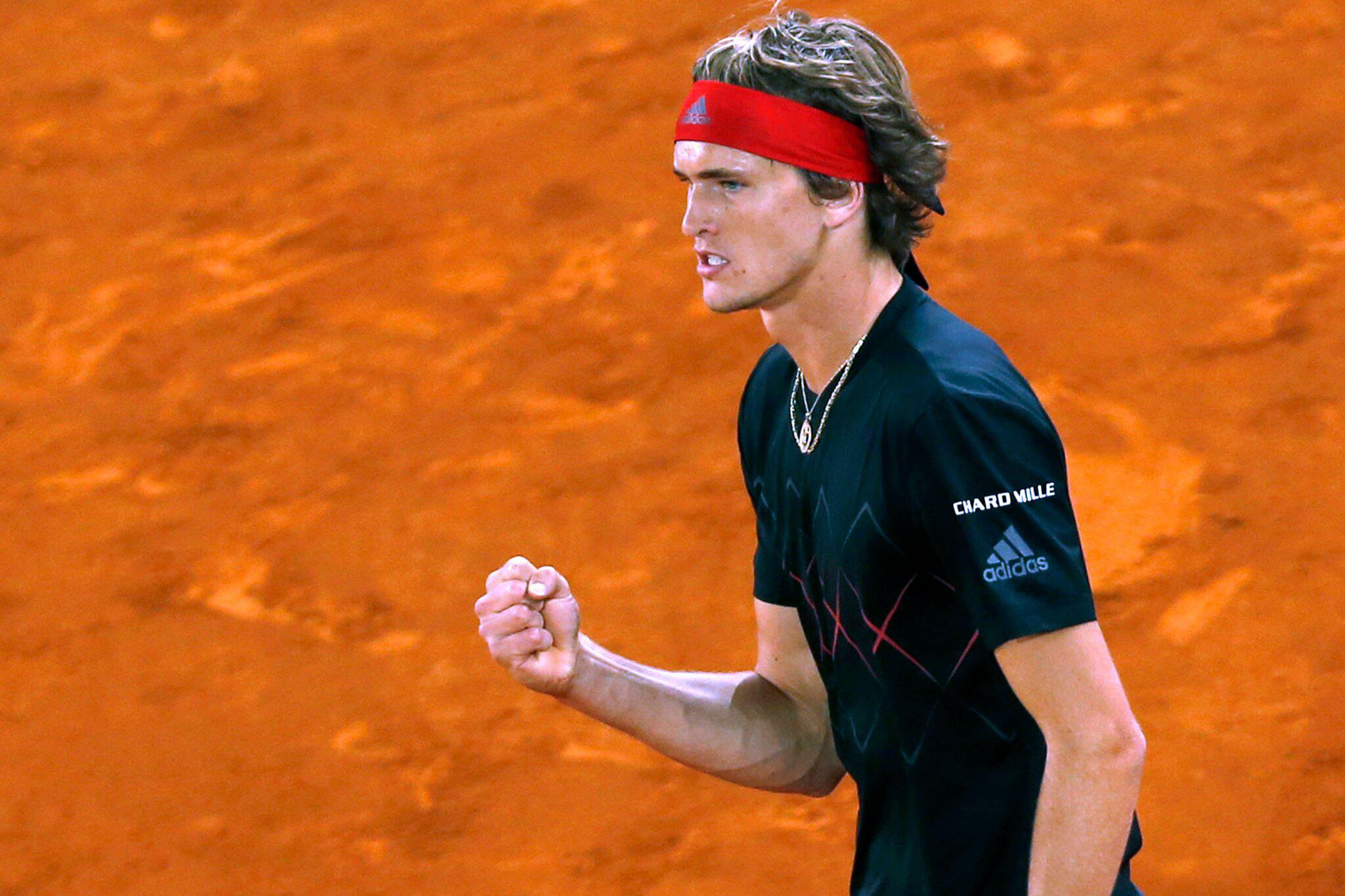 Bild zu ATP-Tour in Madrid: Zverev - Isner
