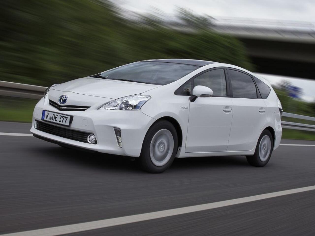 Bild zu Platz 8 - Modell: Toyota Prius+ Hybrid 1.8