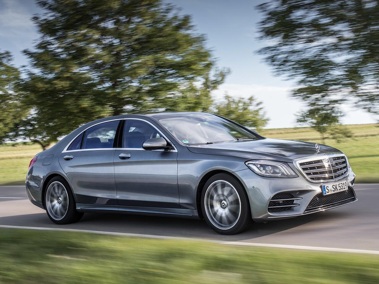 Bild zu Platz 7 - Modell: Mercedes-Benz S 350 CDI